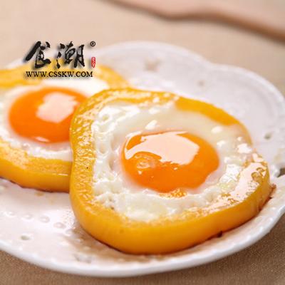 小朋友煎鸡蛋简画